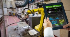 Bedienung einer Smart Factory per Tablet