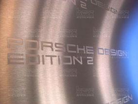 Umsetzen des individuellen Porsche Designkonzepts