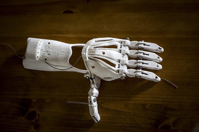 3D-Drucker - Armprothese