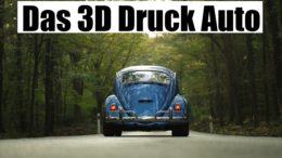 3D Druck Auto