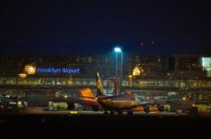 Drohnensichtung am Frankfurter Flughafen