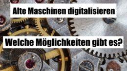 Alte Maschinen