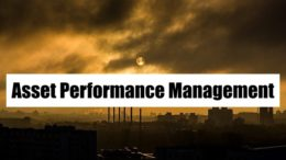 Asset Performance Management