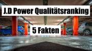 J.D Power Qualitätsranking