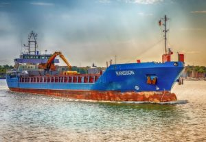 Fahrzeugfertigung-Container-Schiff