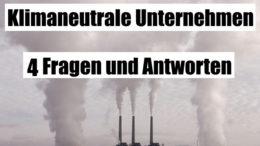Klimaneutrale Unternehmen