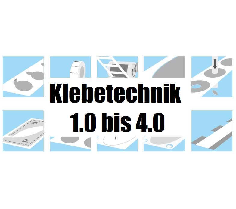 Klebetechnik 1.0 bis 4.0